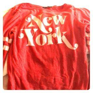 Wild fox NY sweatshirt